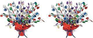Beistle, 2 Piece Balloon Gleam 'N Burst Centerpieces, 15''