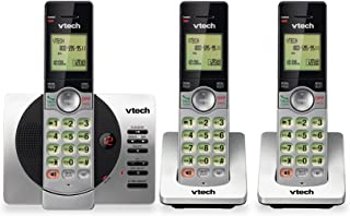 VTech DECT 6.0 Dual Handset Cordless Phone with ITAD, CID, Backlit Keypads and Screens, Full Duplex Handset Speakerphones,...