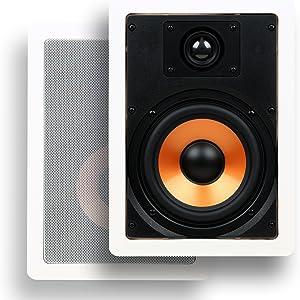 Micca M-6S 6 Inch 2-Way in-Wall Speaker (Renewed)