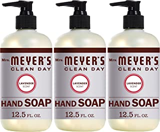 Mrs. Meyers Clean Day Liquid Hand Soap, Lavender Scent, 12.5 Ounce Bottle Each