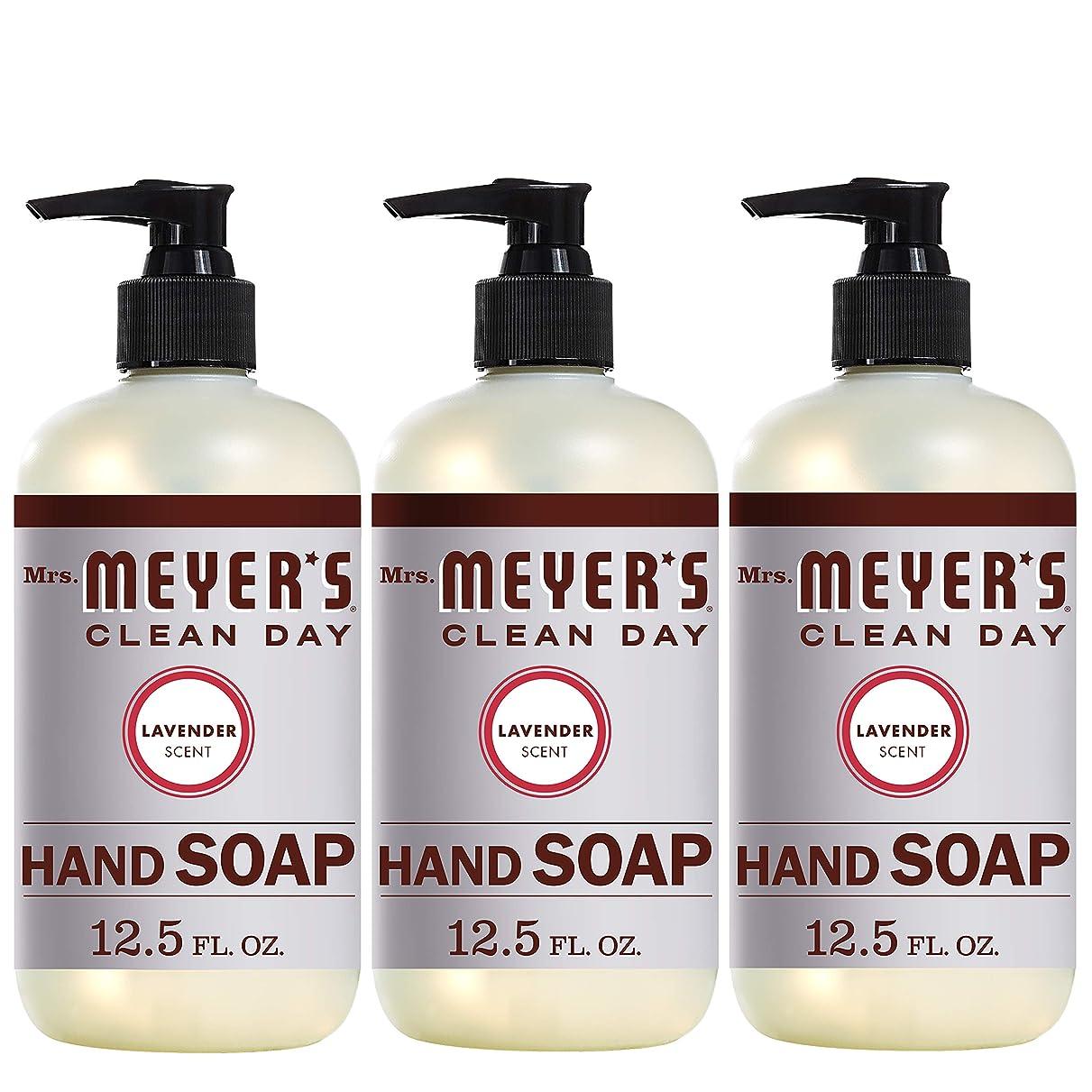 殉教者反響する尊敬するMrs。Meyer 's Clean Day Hand Soap、ラベンダー、12.5?FL OZ