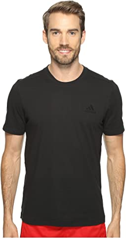 Essentials Droptail 3-Stripes Tee