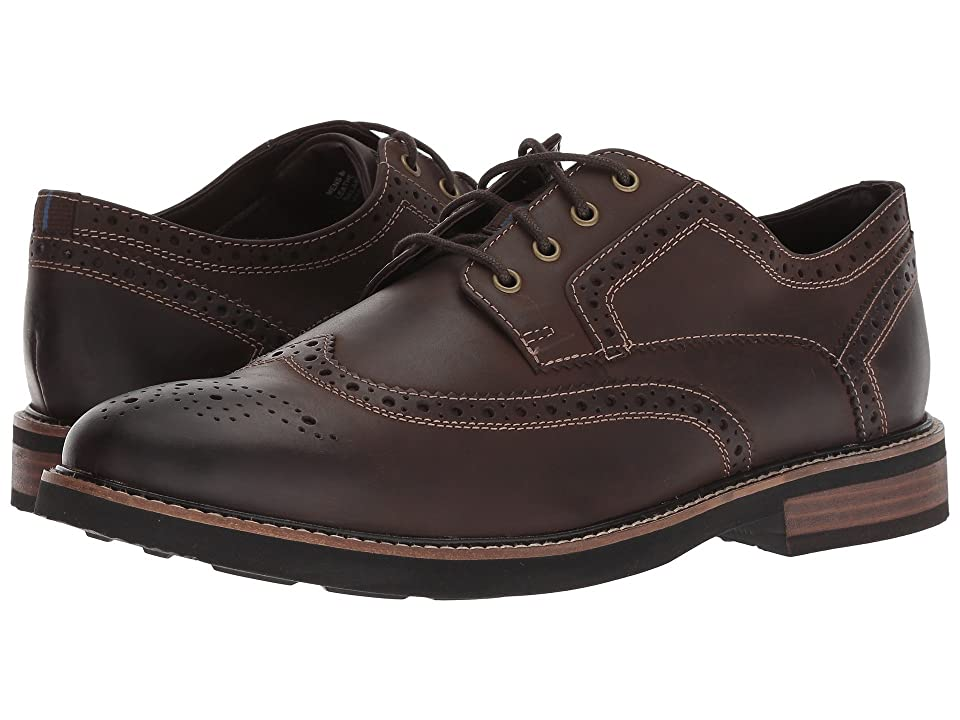 Nunn Bush Oakdale Wingtip Oxford with KORE Walking Comfort Technology (Brown CH) Men