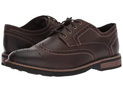 Nunn Bush Oakdale Wingtip Oxford with KORE Walking Comfort Technology (Brown CH) Men