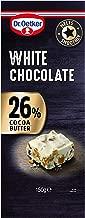 Dr. Oetker White Chocolate Bar 150 grams