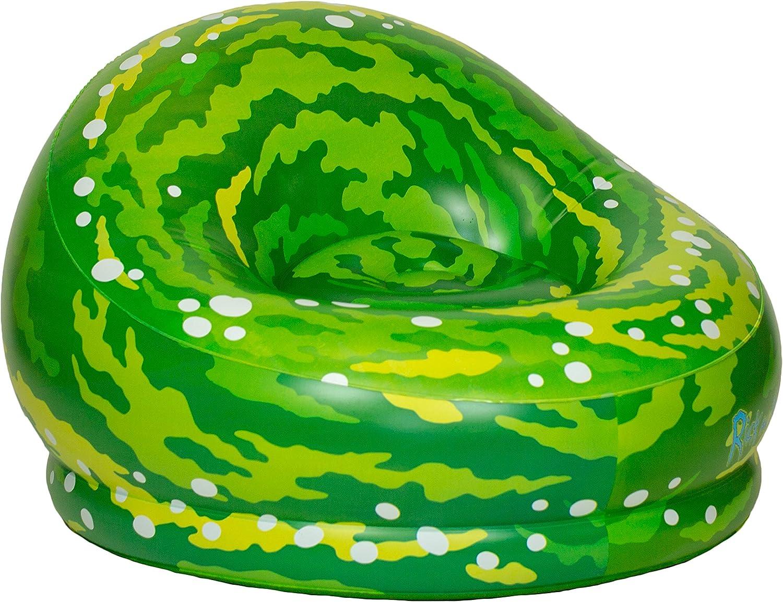 Rick & Morty Inflatable Chair - Portal