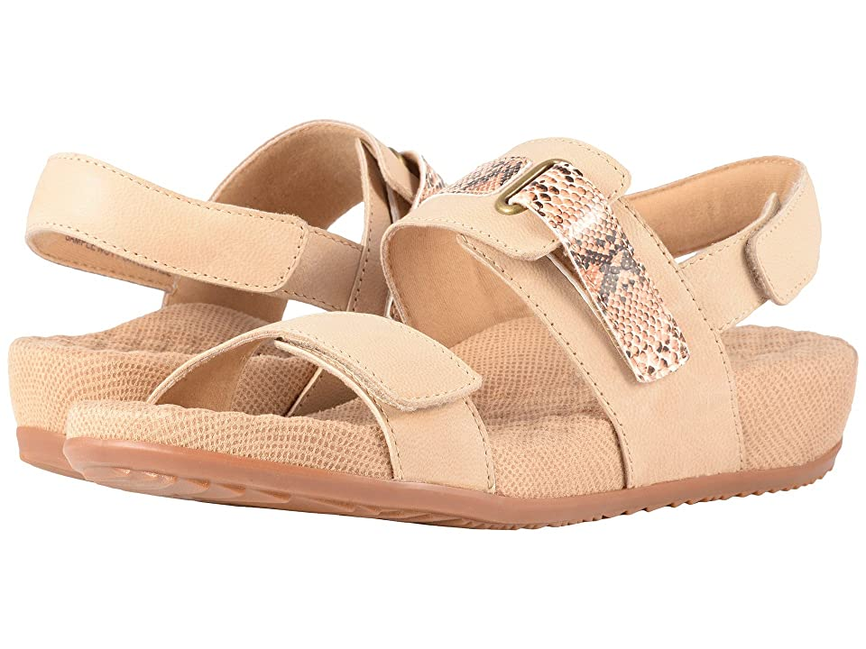 SoftWalk Bimmer (Sand Leather/Printed Snake) Women