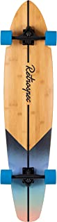 Retrospec Zed Bamboo Longboard Skateboard Complete Cruiser