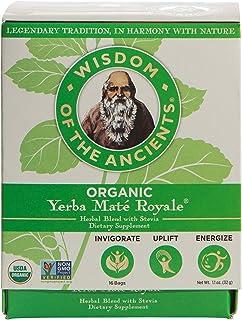 Wisdom of the Ancients Organic Yerba Maté Tea Bags, Royale, 1.1 oz