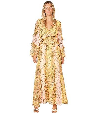 Bardot Mixed Print Dress (Pinky Leopard) Women