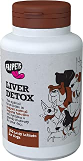 Dog Liver Support - Fab Pets Liver Detox - Boost Liver Function - Natural Vitamins and Antioxidants - Milk Thistle, Vitami...
