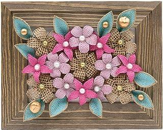 Flores Enmarcadas en 3D, Arte de Flores Enmarcadas, Flores Enmarcadas Hechas a Mano