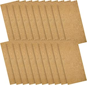 Pack of 20 Jute Plant Grow Mat- Hydroponic Grow Pads Fits for Standard 10