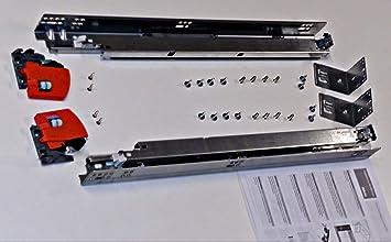 "6 PAIRS 12/"" Blum TANDEM 563H3050B BLUMOTION Soft Close Slides w//Locking Devices"