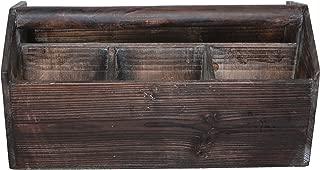 Cheung's FP-3150 Wooden Garden Storage Caddy, Brown