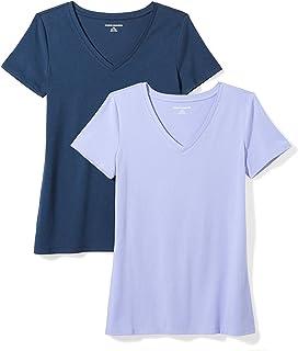 ZAWAPEMIA Mens V Neck Short Sleeved Slim Fit Henley Shirts
