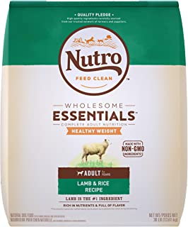 Nutro Wholesome Essentials Adult Healthy Weight Dry Dog Food, All Breed Sizes