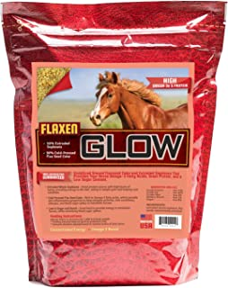 Horse Guard Glow 10 lb. 50% Extruded Soy | 50% Flax Cake