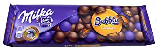 Milka Chocolate Bubbly Caramel, Large Bar 250g