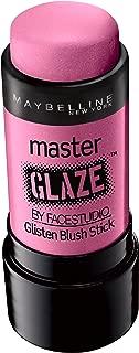 Maybelline New York Face Studio Master Glaze Glisten Blush Stick, Pink Fever, 0.24 Ounce