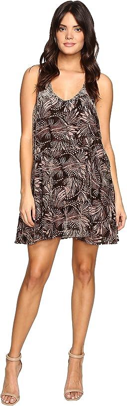 Ellie Velvet Mini Dress