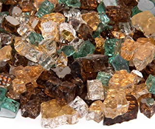 Irish Roast – Fire Glass Blend for Indoor and Outdoor Fire Pits or Fireplaces | 10..