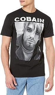 FEA Men's Kurt Cobain Photo T-Shirt