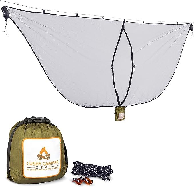 Cushy Camper Premium Hammock Mosquito Net - Incredible Quality Material