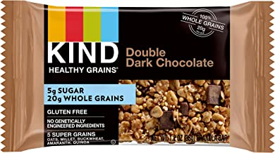 product image for KIND Healthy Grains Granola Bars, Double Dark Chocolate, Non GMO, Gluten Free, 1.2 Ounce Bar Sample