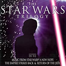 The Star Wars Trilogy: Episodes IV-VI - Music From Star Wars-A New Hope, The Empire Strikes Back & Return Of The Jedi [Clean]