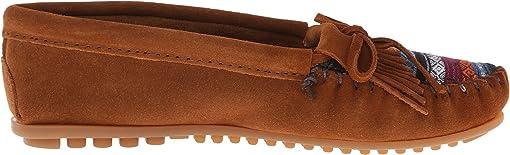Brown Suede/Arizona Fabric