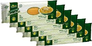 Pasta d´oro – Glutenfreie Nudeln Fettuccine aus Maismehl 12er Pack 12 x 500 g