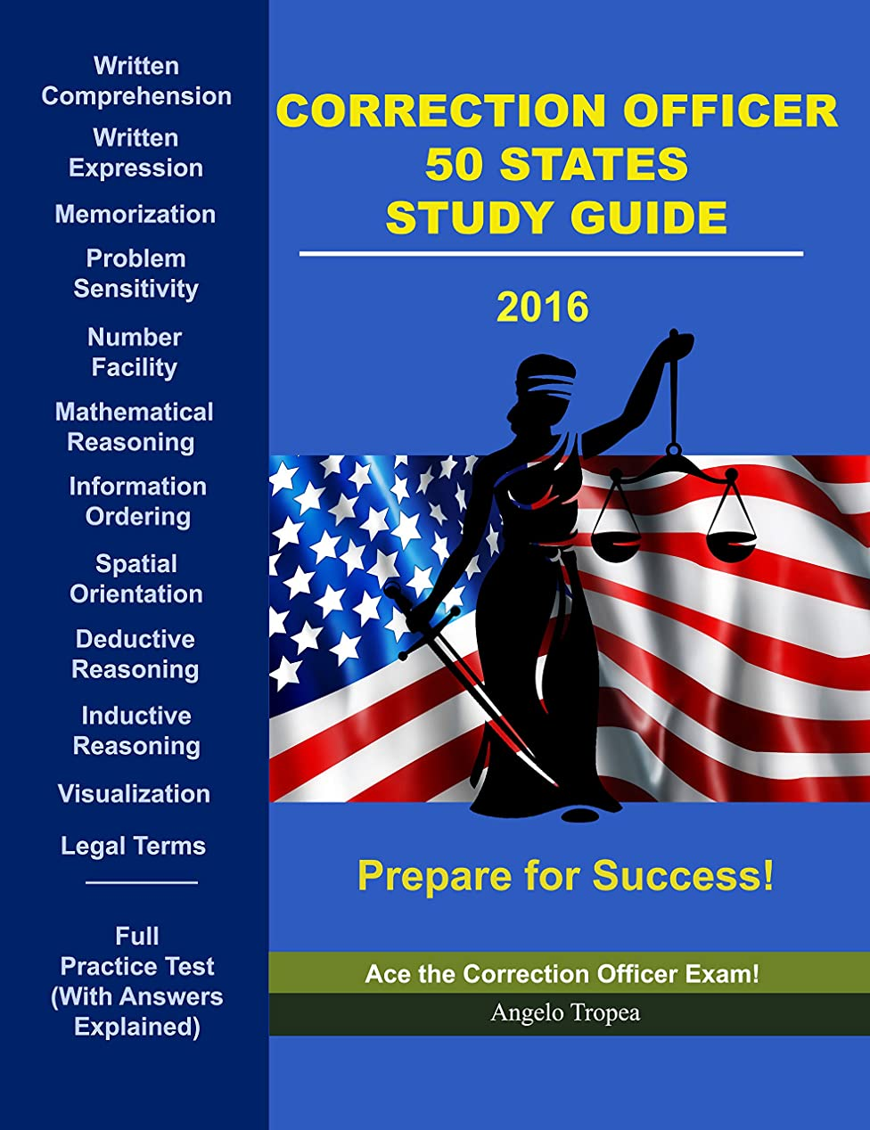 めったに恐ろしい蒸発するCorrection Officer 50 States Study Guide (English Edition)