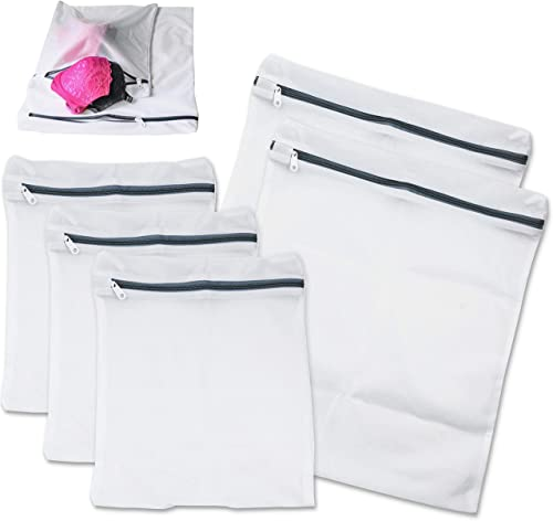 new arrival Simple Houseware Laundry Bra popular Lingerie Mesh Wash Bag (2 online sale Large,3 Medium) online sale