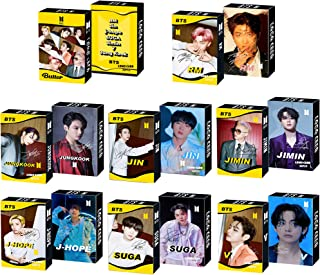 8 Pack/240 Pcs BTS Merchandise Lomo Card KPOP Photocards Butter Greeting Card with Postcards Box