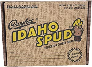 product image for Idaho Candy Idaho Spud Bars in 24 Count Mailer Resembling a Box of Potato's.