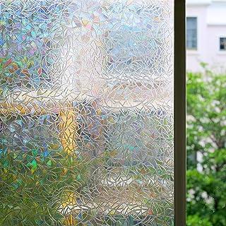 Sadece 3D-statik ve dekoratif cam film için yatak odası/banyo/ofis
