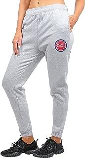 Ultra Game NBA Women's Jogger Pants Active Logo Fleece Sweatpants
