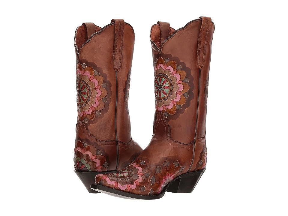 Dan Post Flower Child (Brown) Cowboy Boots