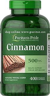 Puritans Pride Cinnamon 500 Mg, 400 Count