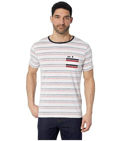 Helly Hansen Fjord T-Shirt (Navy Faded Stripes) Men
