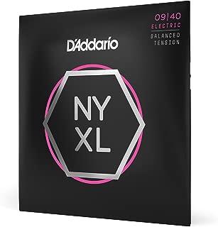 D'Addario NYXL0940 Nickel Plated Electric Guitar Strings,Super Light,Super..