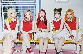 Red Velvet Russian Roulette (3rd Mini Album) OFFICIAL POSTER with Tube Case