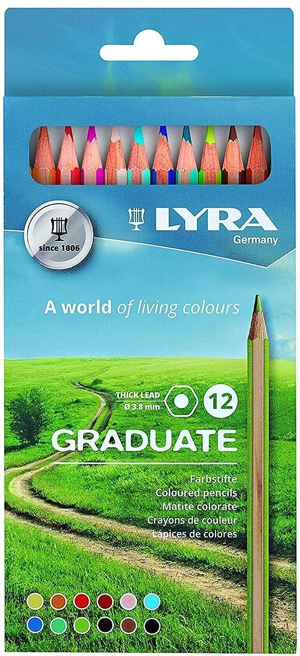Lyra Colouring Pencils, Multi-Color, Multicoloured, 21 x 9.7 x 1 cm
