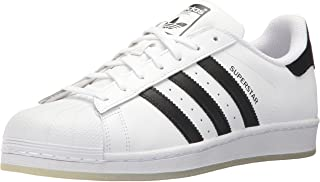 Men's Superstar Shoe Running, Black/White, ((6 M US)
