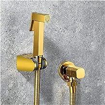 Bidet Accessoires Bidet Kranen Mixer Gouden Messing Douche Tap Wasmachine Mixer Moslim Single Cold Water Taps Square Douch...
