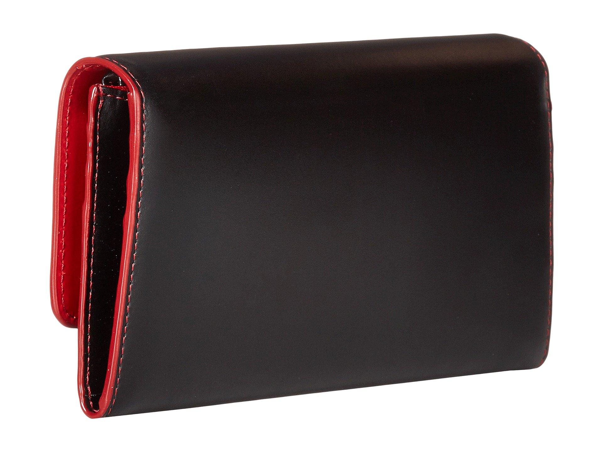 Wallet Accessories Luna Black Lodis Audrey Lock Key Under Clutch amp; Rfid ATqTzw