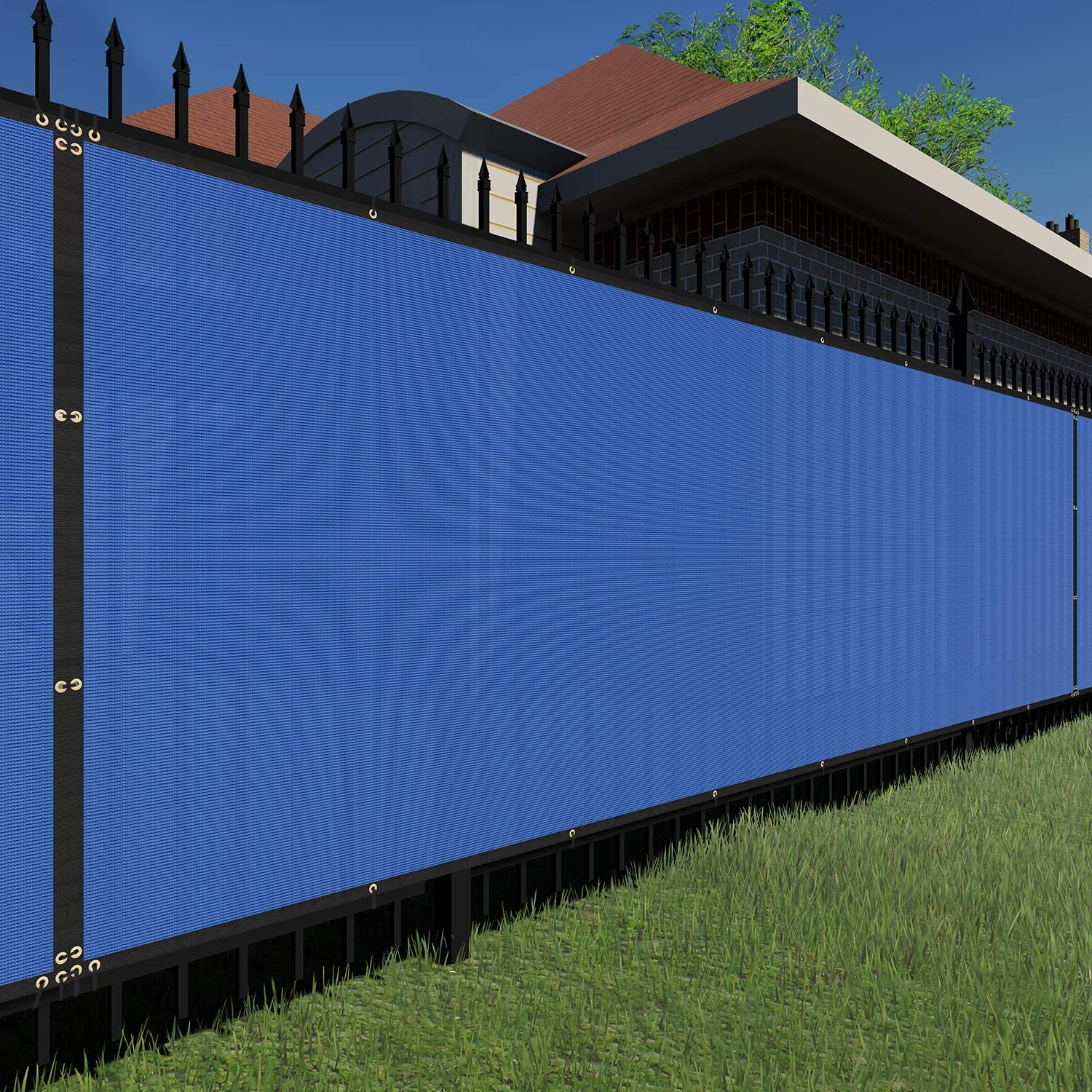 TANG Sunshades Depot Blue 4'x20' 150 Privacy Popularity Fence GSM Co Screen Max 79% OFF