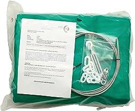 by Beier Germany universele pijlvangnet-set: groen 3,5 extra sterk en 3 meter hoog, meerkleurig