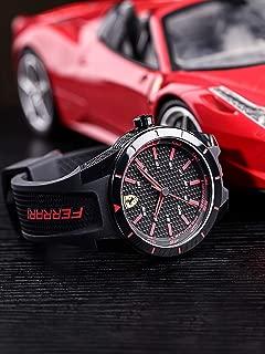 Scuderia Ferrari Analog Black Dial Men's Watch - 0830245